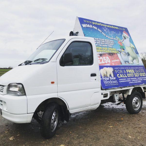 Little AdVan Co. Mobile Advertising Norfolk Suffolk